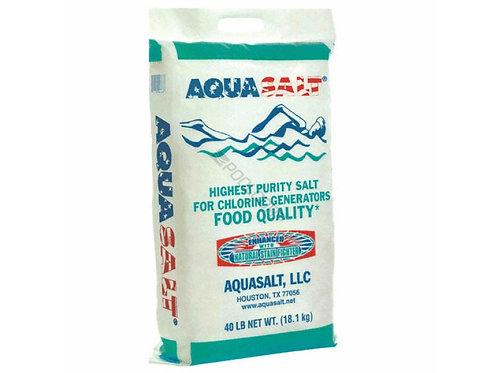 AQUASALT FOOD QUALITY SALT- 8368 63/PLT 40#