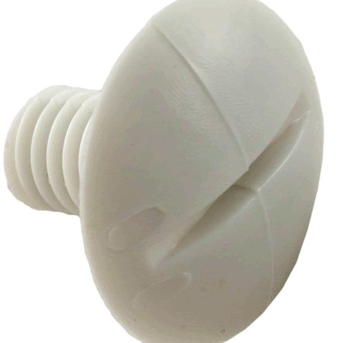 C55 280/180 WHITE WHEEL SCREW