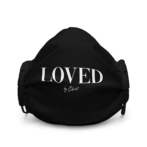LOVED LUX FACEMASK - BLACK