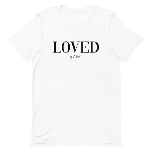 LOVED LUX TEE - WHITE