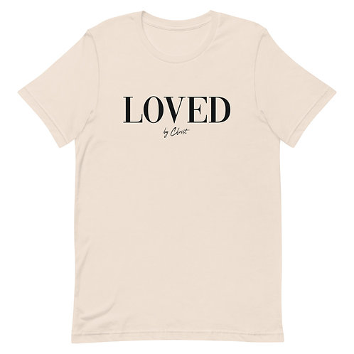 LOVED LUX TEE - CREAM
