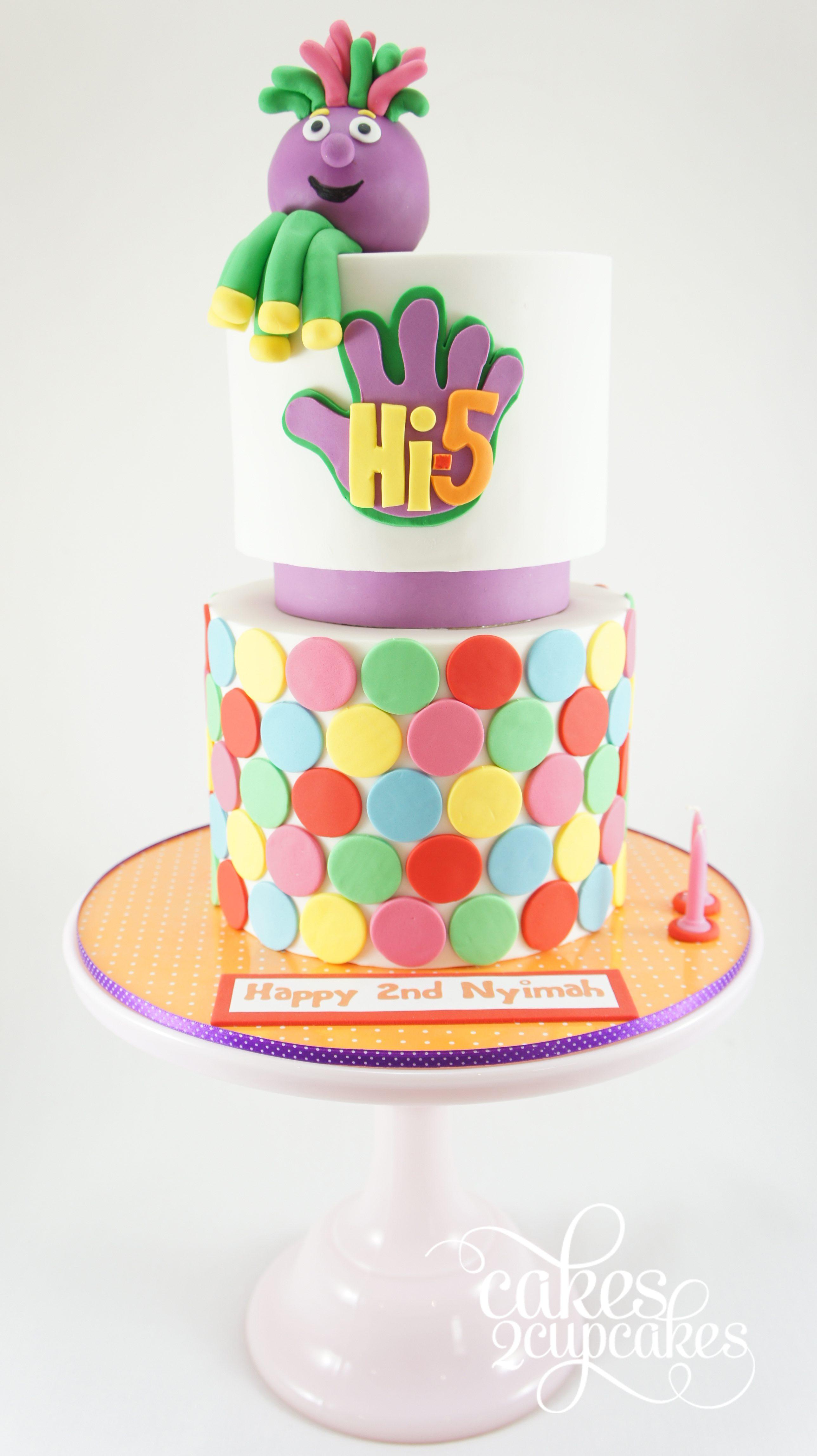 cakes2cupcakes-Hi-5 cake.jpg