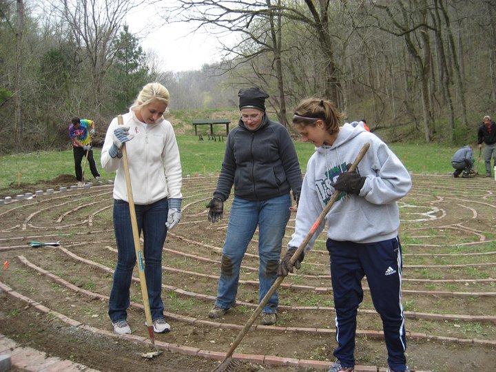 Labyrinth construction