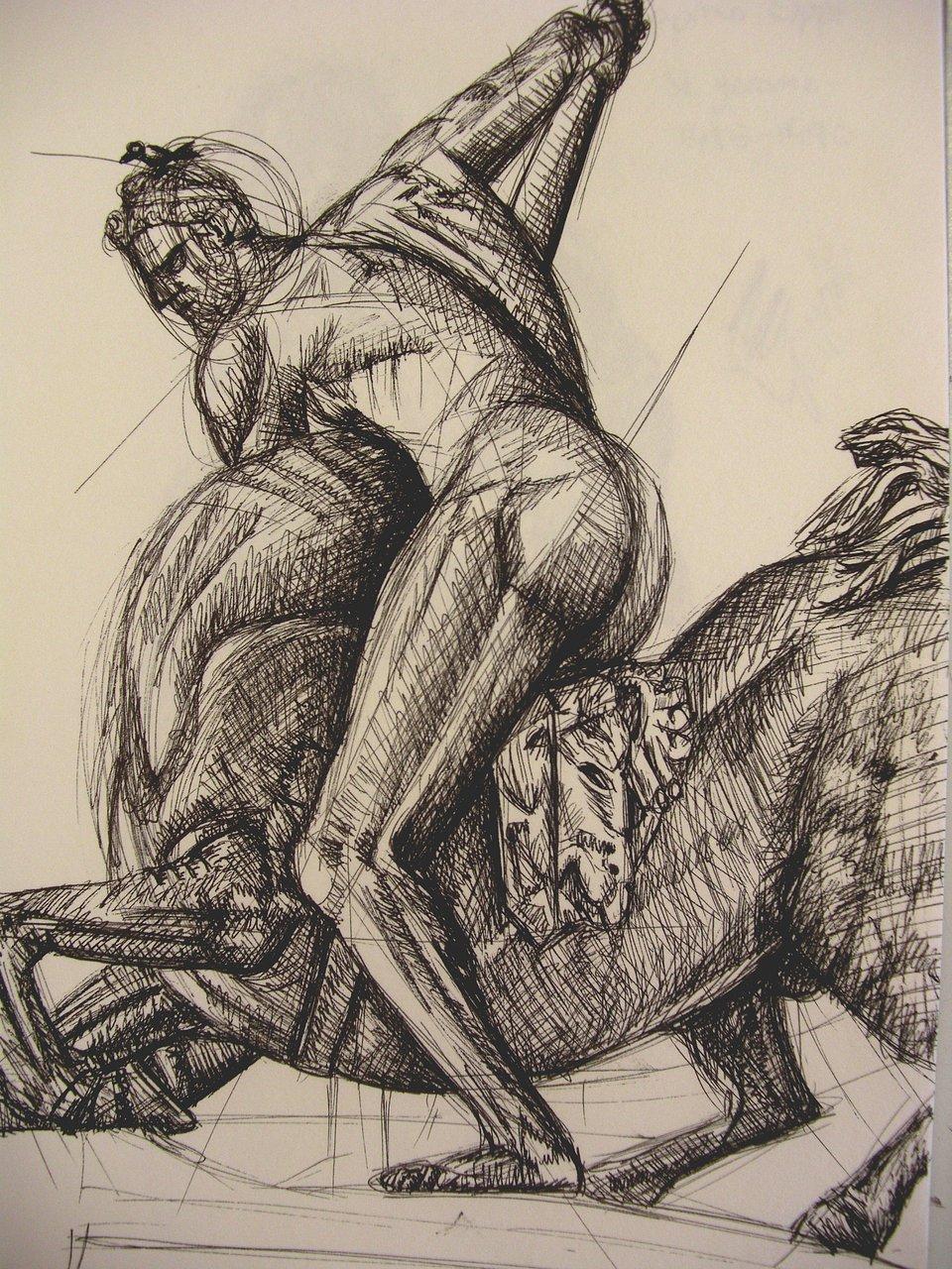 Hercules Killing the Centaur