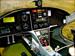 M24 Inside Cockpit