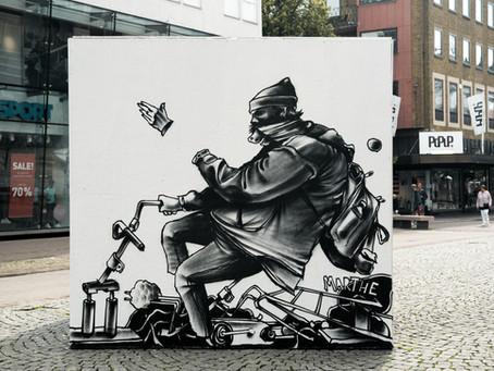Karlstad Street Art- konstverken.