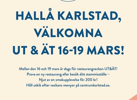 UT&ÄT- Restaurangvecka i Karlstad City!