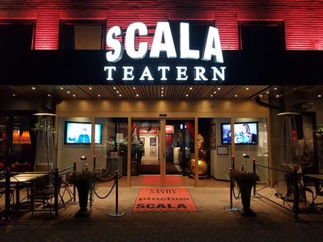 Scalateatern finner du ingen annanstans än i Karlstads stadskärna.