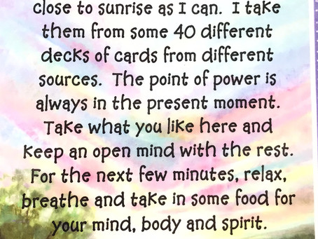 Power Thoughts Day 474