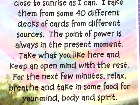 Power Thoughts Day 422