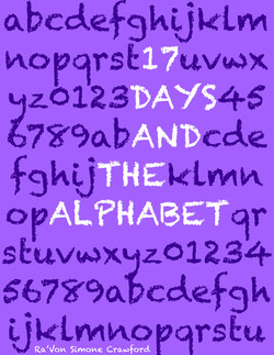 17 Days and the Alphabet