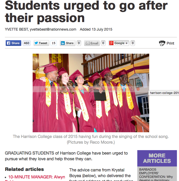 Harrison College Graduation