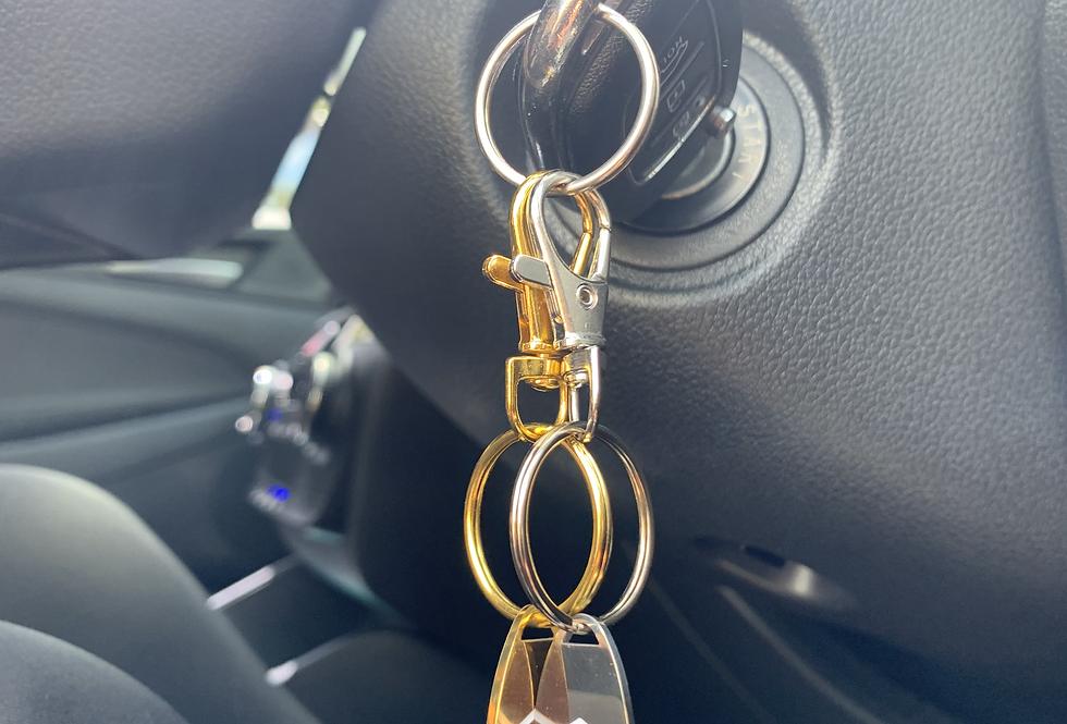 Clip & Go Key Ring