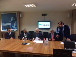 Turksat and KIZIL Elektronik will develop products together