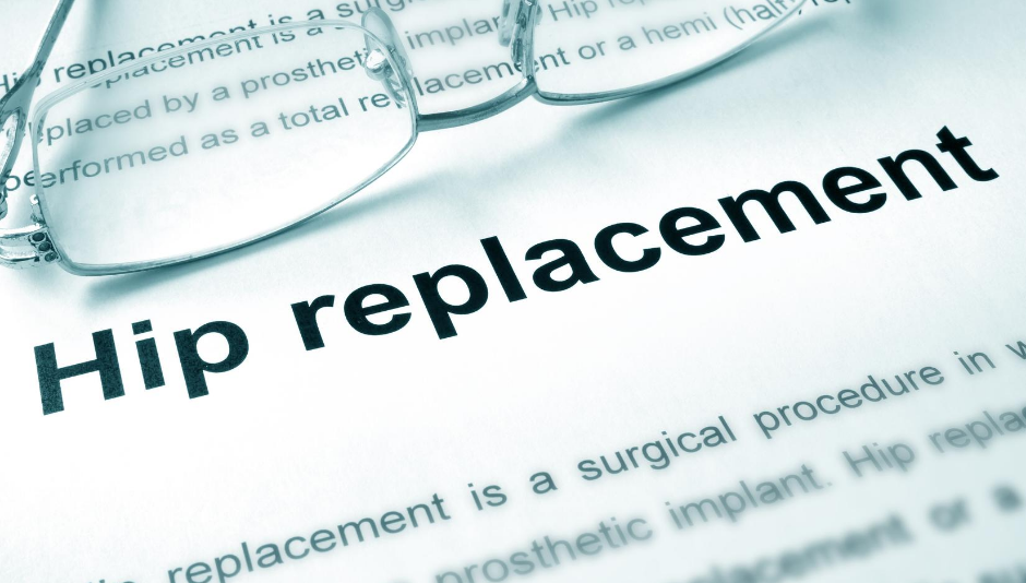 definition of hip replacement surgery