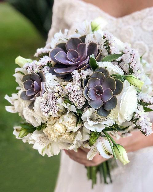 Buquê de Noiva com Suculentas - Provence