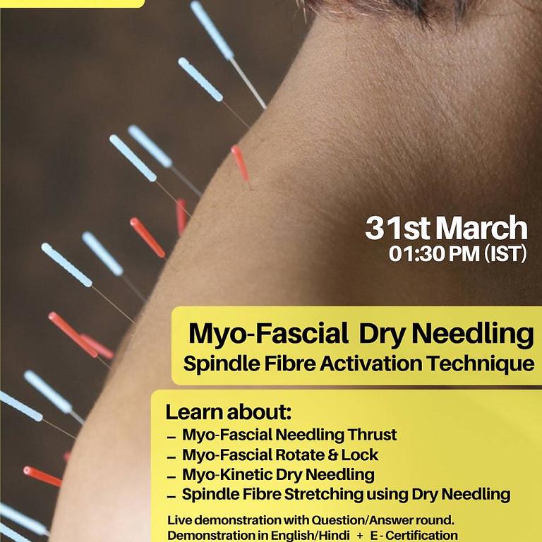 Myo-Fascial Dry Needling Webinar