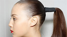 headaches due to tight ponytails