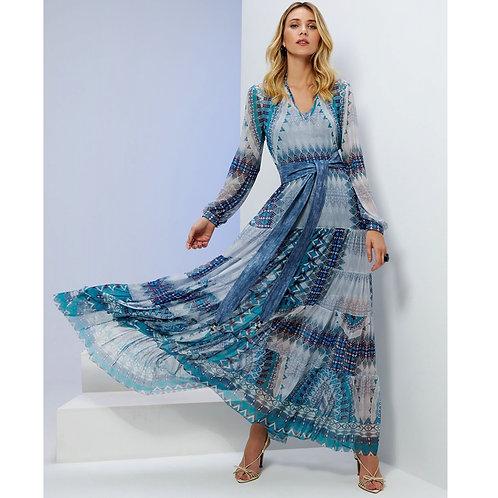 Vestido Mandala C/ Combinete Em Até 3x R$ 476,33