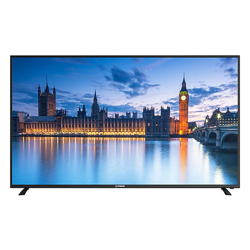 """Ctroniq 55"""" Uhd Smart Tv Dvb-T2 3d Nr 2 Hdmi 2 Usb Pc, Black"""