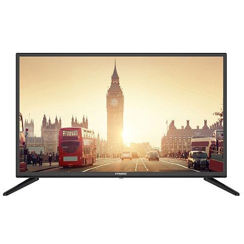 """Ctroniq 43"""" FHD LED TV, ATV, 3D NR, 2 HDMI, 3 USB, PC Port, Black"""