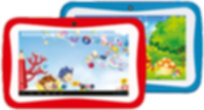 Kindertab K10 red and blue