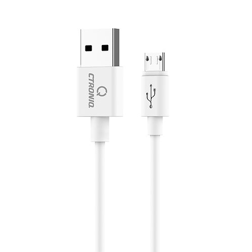 CTRONIQ Vimba CU02 Mircousb, USB Charging/Data Sync Cable, Fast Charging, 1.8m