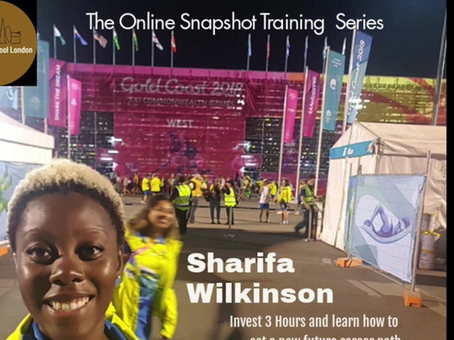 Introducing a New Online Course with Sharifa - Work International Events and Travel the World!
