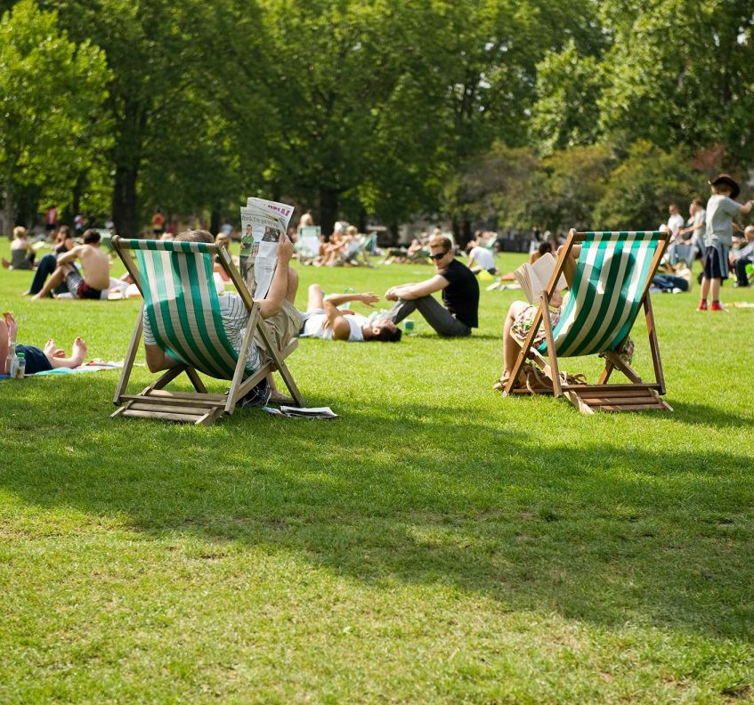 london parks in summer