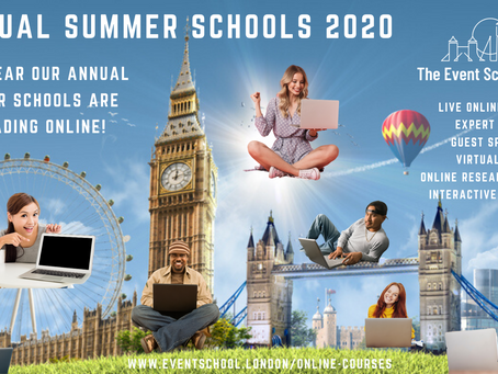This Summer We Can't Bring You to London...So We're Bringing our London Courses to you!