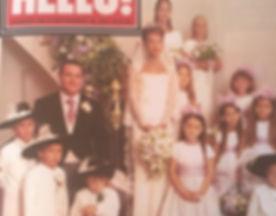 A Siobhan Craven-Robin wedding in Hello