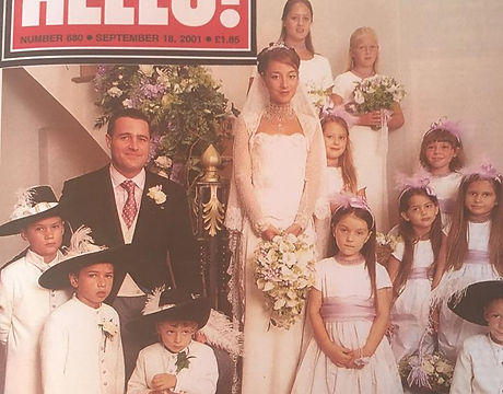 A Siobhan Craven-Robin wedding in Hello