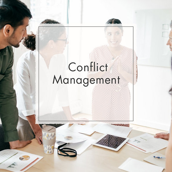Conflict Management - MicroCredential, Fully Online Course