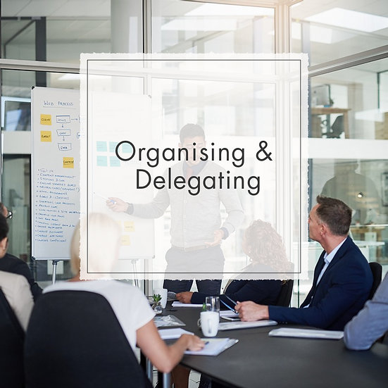 Organising and Delegating - MicroCredential, Fully Online Course