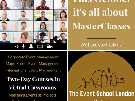 This October its all about taking MasterClasses in our new Virtual Classrooms