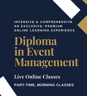 Diploma in Event Management - Virtual Course, Online Morning Classes