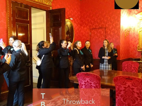Touring The Ritz with an Australian Events Class....#TBT