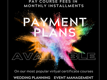 Payment Plans Now Available on Our Most Popular Virtual Courses this February.