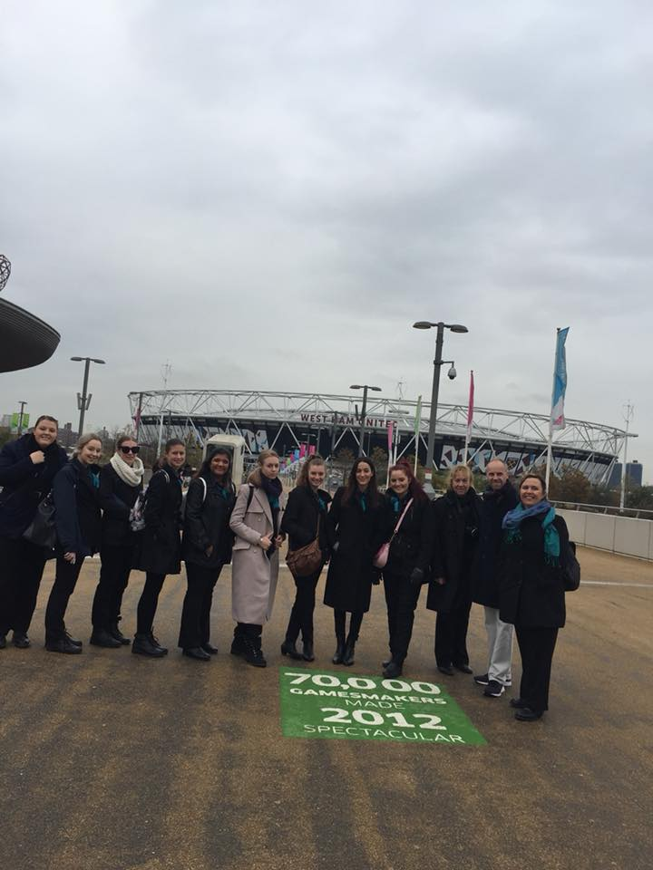 London Stadium Tour with James