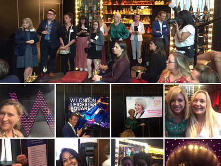 Meeting Leading Wedding Professionals at the Fabulous NAWP Event - W Hotel Leicester Square.