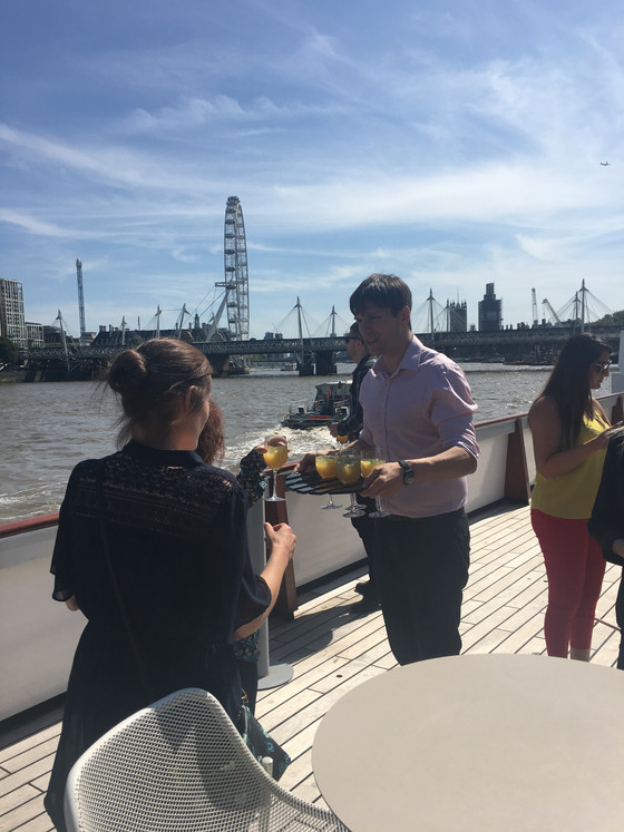 Excursions on London Summer Schools include The Silver Sturgeon