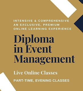Diploma in Event Management - Virtual Course, Online Evening Classes