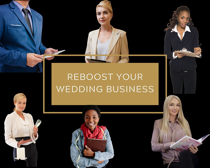 ReBoost your Wedding Business - Online Class