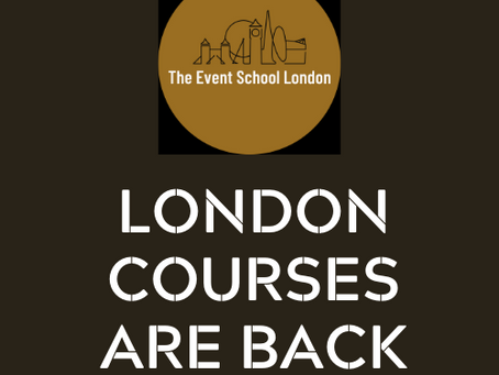 London Courses are Back!