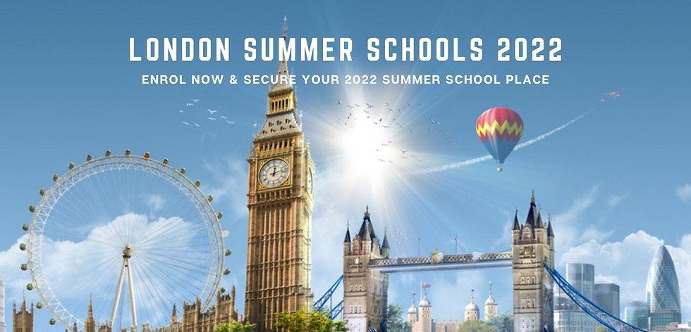 LONODN SUMMER SCHOOLS 2022