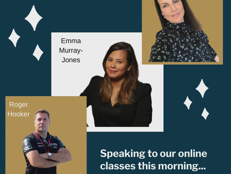 Industry Leaders are Speaking this Morning with our Online Event Management Course