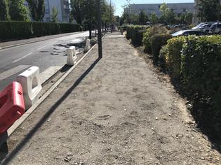 2ème tranche de travaux de réfection des trottoirs de l'avenue de la République