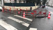 Aménagement du passage Piéton rue Charles Peguy