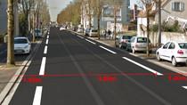 Des bandes cyclables sur l'avenue Maginot