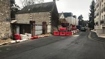 Élargissement du trottoir rue Croix Pasquier